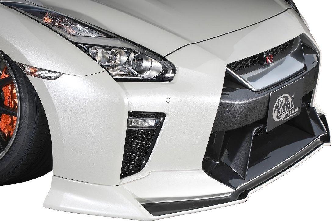 【M's】R35 GT-R 後期(2016.7-)35R-SS フロントディフューザー KUHL RACING クール レーシング エアロ F アンダー スポイラー ハーフ リップ 日産 GTR
