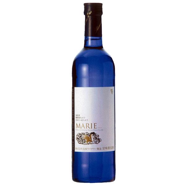 島根県産デラウェアをベースに 糖質をカットしカロリーを抑えたワイン ワイン 捧呈 白 甘口 600ml×2本 MARIE 島根ワイナリー 引き出物 島根わいん マリエ