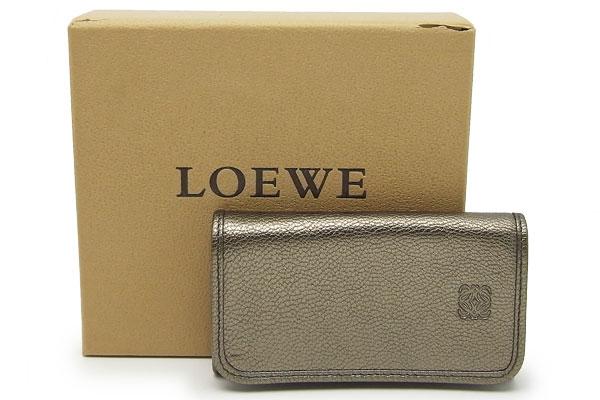 ロエベ(LOEWE)6連キーケース111.08.611【中古】程度S【smtb-m】