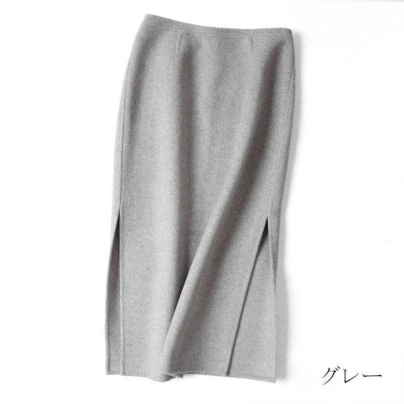 90%ウール ストア 冬暖かい大人っぽいチェック柄で季節感のたっぷりのスカート 定番の人気シリーズPOINT ポイント 入荷 秋冬ウール混スカートカジュアルでも女性らしい印象に