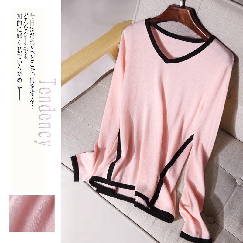 フリーサイズ 送料無料 可愛いピンク色 セール品 最新号掲載アイテム ニットセーター