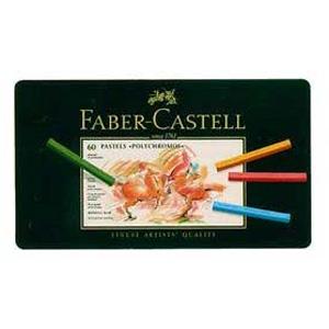 【送料無料】 ファーバーカステルパステル ポリクロモスパステル 60色(紙箱入) 128560