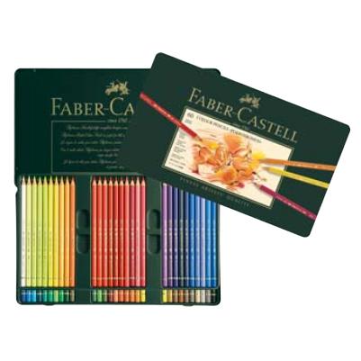 【送料無料】 ファーバーカステル ポリクロモス色鉛筆 60色(缶入) 110060 油性色鉛筆