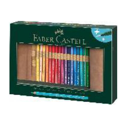 ファーバーカステル アート&グラフィックペンシルロールシリーズ 117530 A.デューラー水彩色鉛筆30色セット【デューラー水彩】【色鉛筆】【ロールペンケース】【水彩色鉛筆】