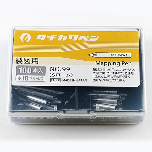 【10本お得】 ペン先 タチカワ 99丸ペン 100本入り【入り数110本】