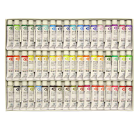 【送料無料】 クサカベ 水彩絵具 54色セット(2号チューブ・5ml)
