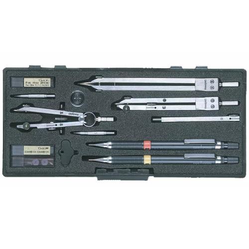 【ドラパス独式製図器セット】独式8本組2 16品 製図器セット