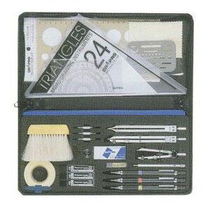 【便利な製図器セット】オール・イン・ワン製図器10本組25品