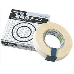 도 라 패스 제도 용 테이프 마스킹 테이프 12mm×18m (17-071)