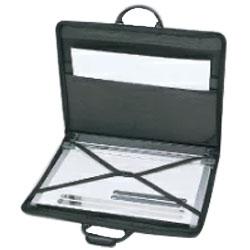ドラパスボードA2平行定規 専用ハードタイプ携帯バッグ DPZ-A2 (A2ポートフォリオとしても使用できます) ドラパスボードA2平行定規 専用ハードタイプ携帯バッグ DPZ-A2 (A2ポートフォリオとしても使用できます)