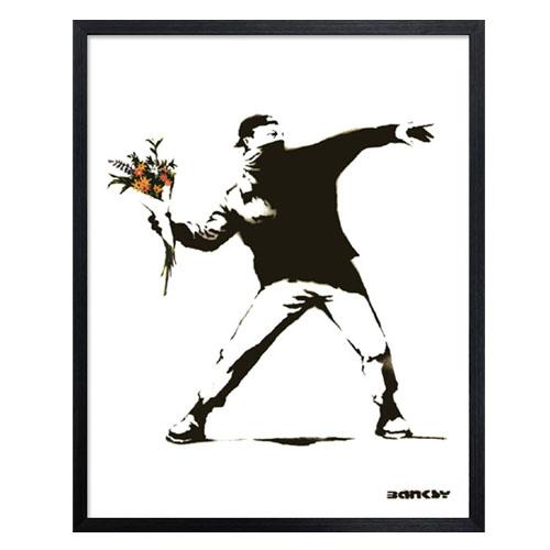 アートフレーム バンクシー Banksy 【アートパネル】【ポスター】【壁掛け】【おしゃれ】【絵画】 【バンクシー】