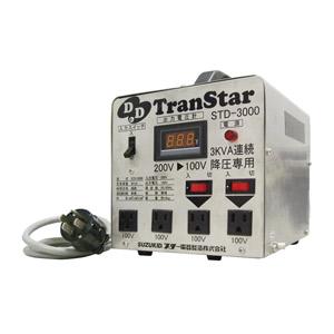 スズキッド(スター電器製造) 降圧専用ポータブル変圧器 DDトランスター STD-3000