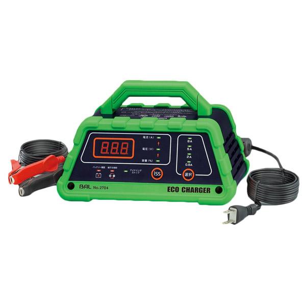 大橋産業(BAL) バッテリー充電器 エコチャージャー NO2704