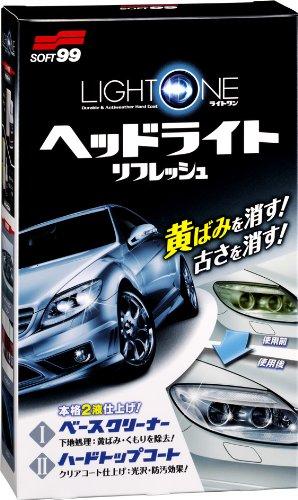 ソフト99 SOFT99 安全 新色追加 ライトワン ヘッドライトリフレッシュ 03133 HTRC 3