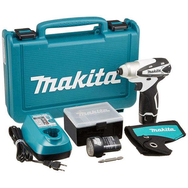 マキタ 10.8V充電式インパクトドライバ TD090DWXW バッテリ2本付