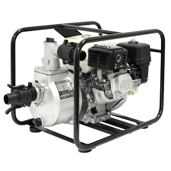工進 1.5インチエンジンポンプ (ホンダ4サイクルエンジン搭載/口径40φ/最大吐出量350L) KH-40P