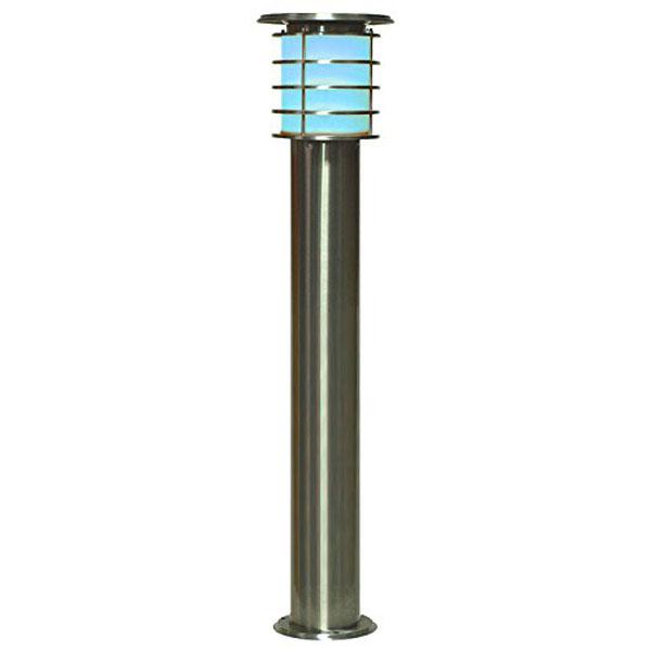 システック LED ソーラーポールライト 1.0mタイプ 白色 SPL-10-WH