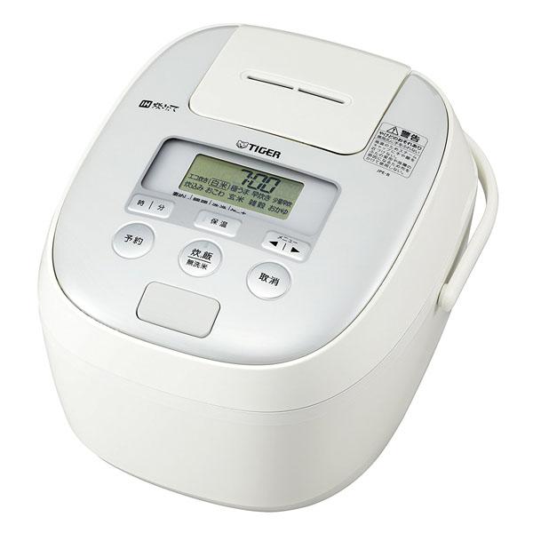 タイガー 炊飯器 1升 IH ホワイト 炊きたて 炊飯 ジャー JPE-B180-W Tiger