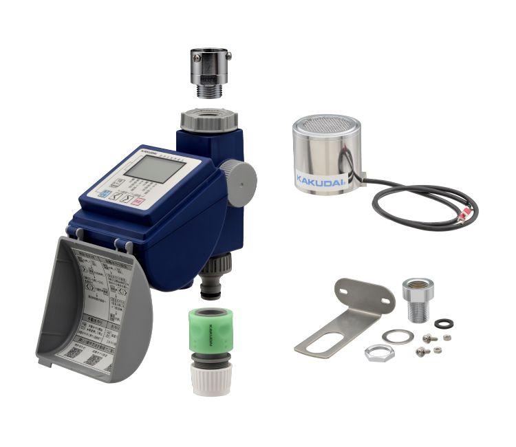 新作 人気 ガオナ 潅水コンピューター 雨センサー付き 散水タイマー 買い取り 簡単操作 GA-QE002 節水 曜日設定