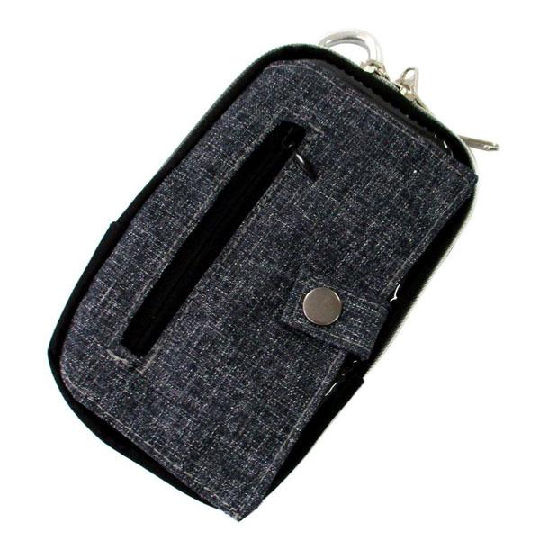 WIZA ウイザ スマートケース 注目ブランド L WZB-102BL 100%品質保証! 奥行18×高さ5.5×幅11.5cm