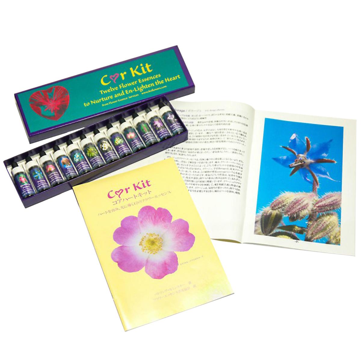 FES コアハートキット(12本) (Flower Essence Services) 日本国内正規品 【 あす楽 】【 FESフラワーエッセンス フラワーエッセンス セット 】