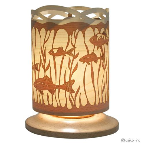 クーネルト フィッシュ インテリア照明 【 送料無料 】【 kuhnert インテリア照明 ロータリーピラミッドランプ ランプ クーネルト kuhnert 】