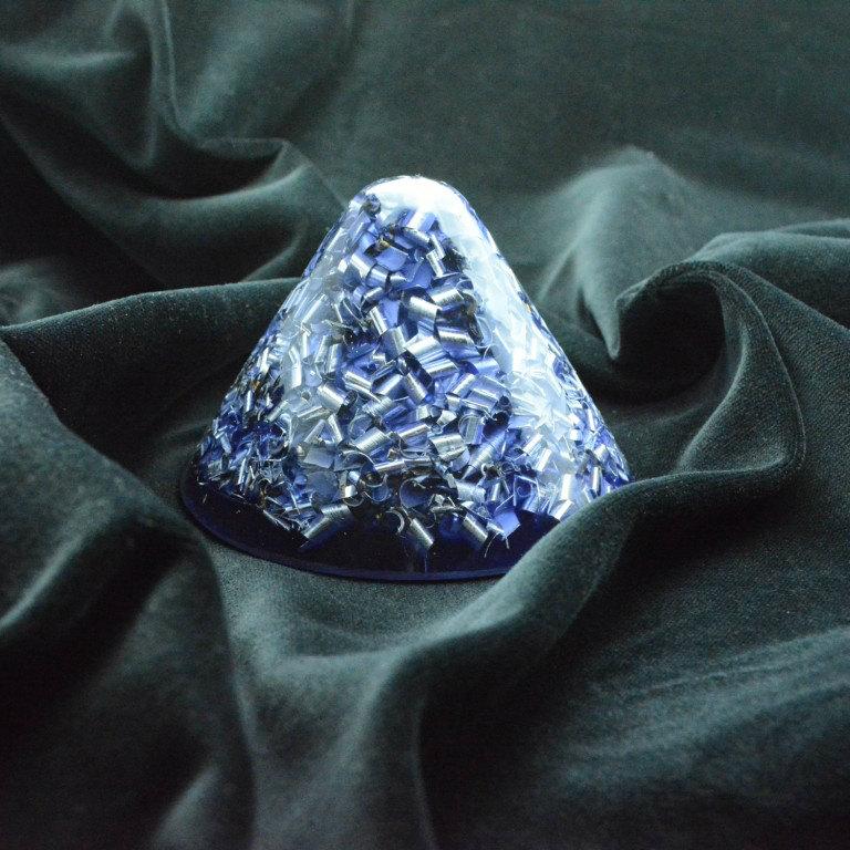 ボヘミアンオルゴナイト クラール ホリーグレネード HHG 小 ブルー K05 日本国内正規品 ( ボヘミアンオルゴナイト オルゴナイト:TB・HHG )