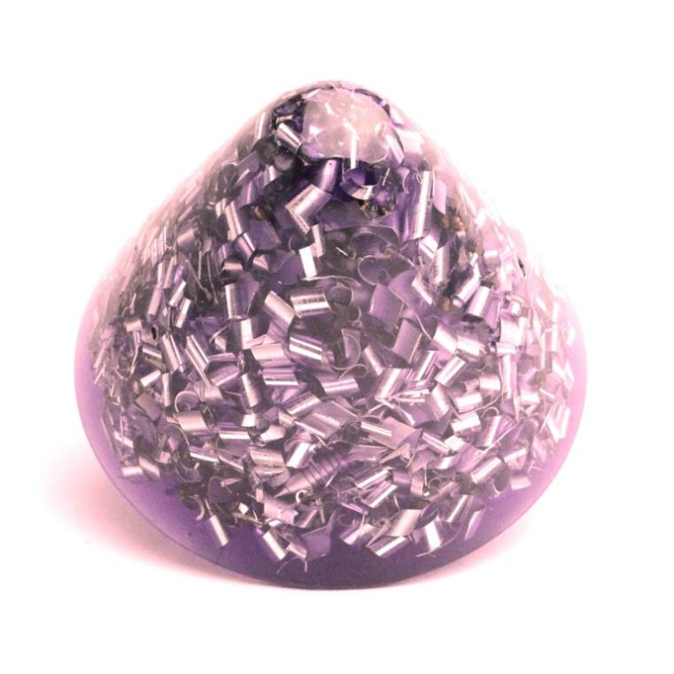 ボヘミアンオルゴナイト クラール ホリーグレネード HHG 小 パープル K08 日本国内正規品 ( ボヘミアンオルゴナイト オルゴナイト:TB・HHG )