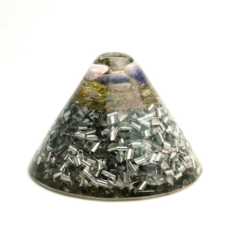 ボヘミアンオルゴナイト クラール ホリーグレネード HHG 小 アメジスト K10b 日本国内正規品 ( ボヘミアンオルゴナイト オルゴナイト:TB・HHG )