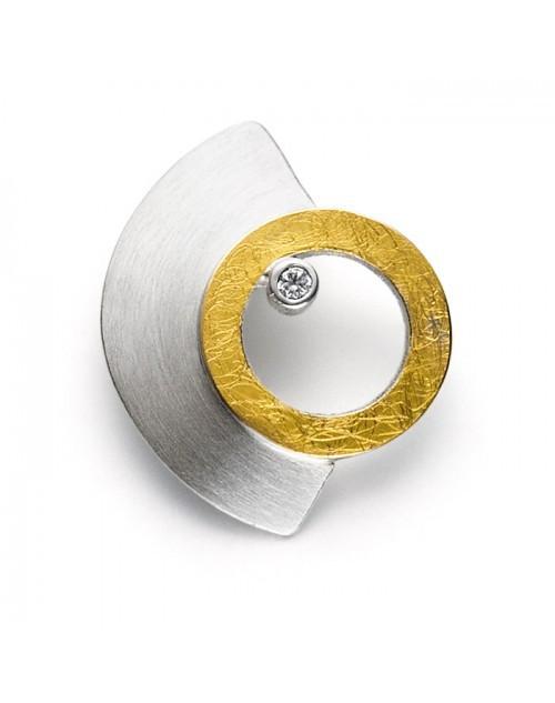 リヒトウェーゼン ジュエリー エジプトの黄道 ジルコン付き黄金と銀ペンダント ( LichtWesen リヒトウェーゼン リヒトヴェーゼン ジュエリー ) LW-JSR1 日本国内正規品