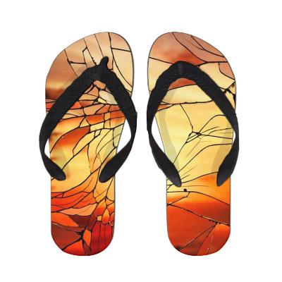art アート イラスト LONDON ビーチサンダル ビーサン サンダル 夏 サマー 水着 レジャー スリッパ 靴 スニーカー スリッポン