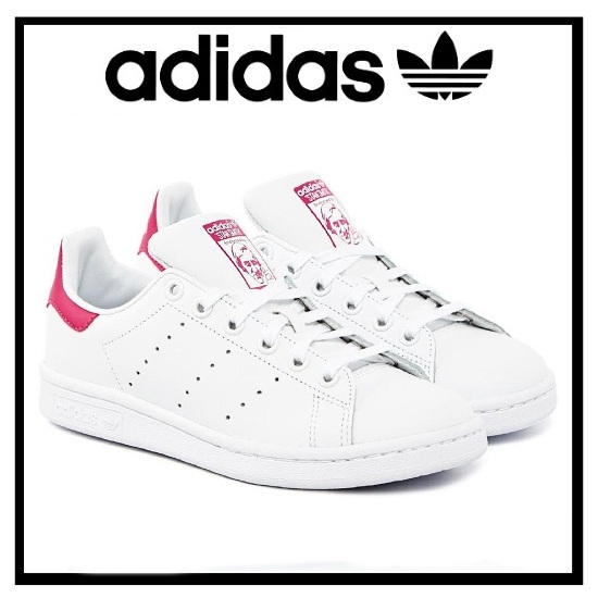 (adidas) adidas ORIGINALS STAN SMITH J (Stan) B32703 women\u0027s Shoes Sneakers  FTWWHT
