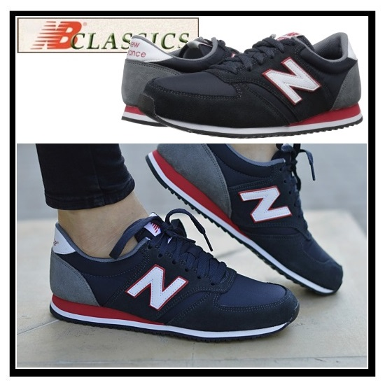 grey and navy new balance women's