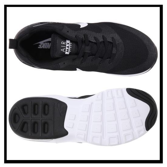 NIKE (Nike) AIR MAX SIREN (siren air max) WOMENS ladies sneakers BLACK/WHITE/SILVER black / white / silver (749510 004)