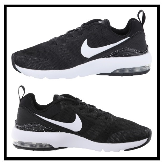 nike air max siren women's trainers black&white market