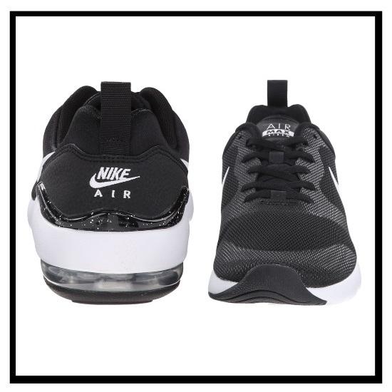 耐克 (Nike) 空气马克斯警报器 (警笛空气马克斯) 女性女士运动鞋黑、 白、 银黑色 / 白色 / 银 (749510 004)