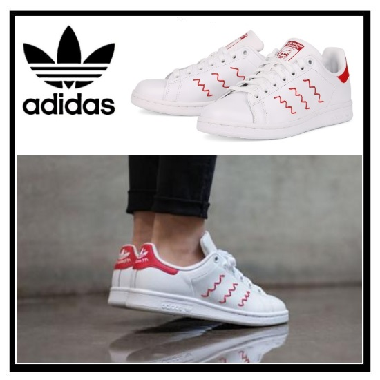 adidas stan smith rood zigzag