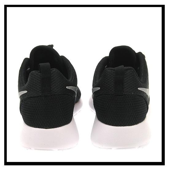 NIKE (Nike) ROSHE ONE Losey one ROSHERUN low silane WOMENS sneakers BLACKMETALLIC PLATINUM WHITE black white (511882 094) ROSHEONE ENDLESS TRIP