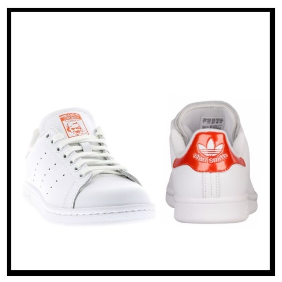 stan smith womens Orange