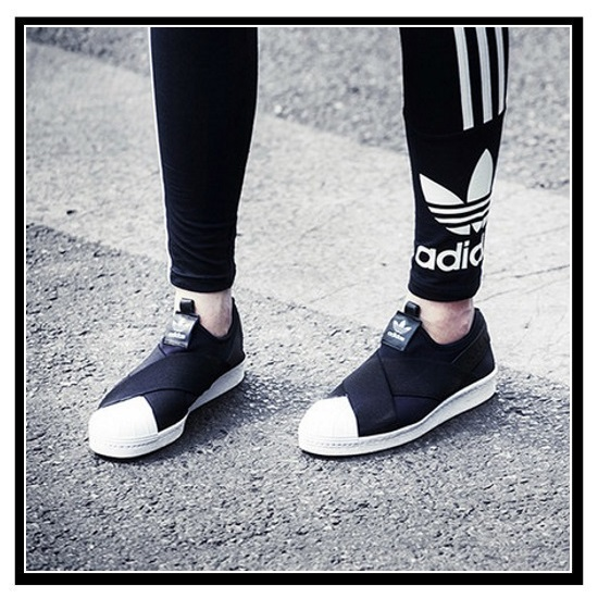 4e2606ad6f5 adidas ORIGINALS (Adidas) SUPERSTAR SLIP ON W (superstar slip-ons) Lady s shoes  sneakers CBLACK CBLACK FTWWHT (black   white) S81337 ENDLESS TRIP ...
