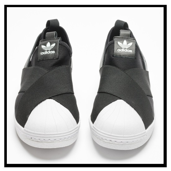 adidas shoes black and white superstar slip on adidas 568010