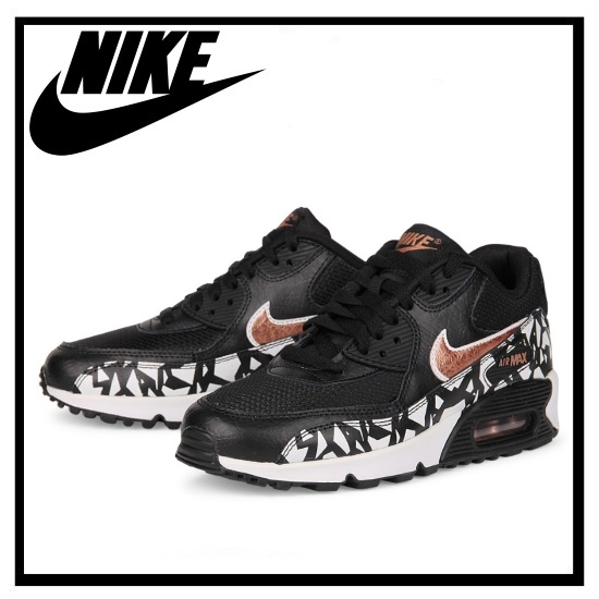 ENDLESS TRIP | Rakuten Global Market: NIKE (Nike) AIR MAX 90 FB (GS) (Air  Max 90 FB (GS) (BLACK/MTLIC RED bronze-HITE) women's sneakers black/white  (705392 ...