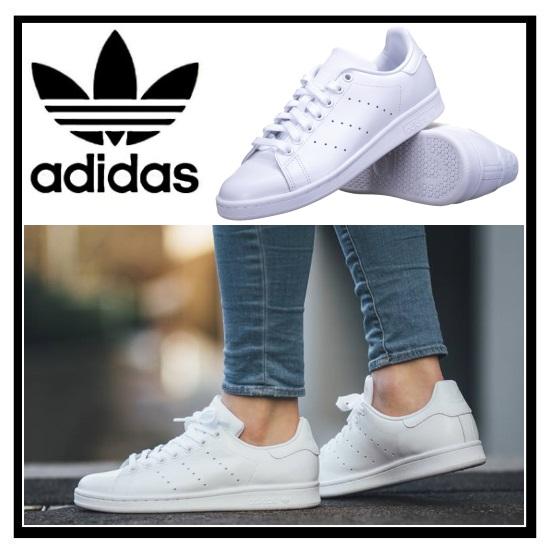 Adidas Originaux Adidas Chaussures De Sport - Blanc Stan Smith i5mroP