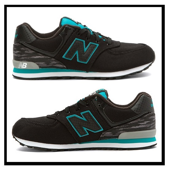 sports shoes 0bfc3 35773 new balance 574 black green