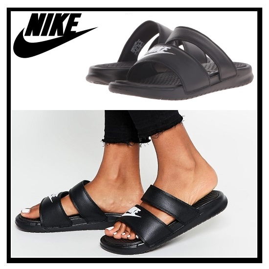 Nike Benassi Duo Ultra Slide Black Mens Health Network