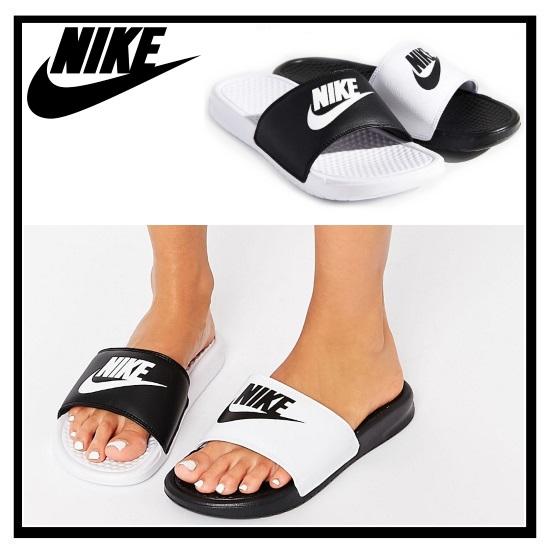 e42e4545e26 ... discount nike nike womens benassi jdi mismatch mismatched benassi jdi  womens healthy shower sandals black white