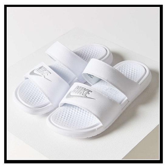Nike Wmns Benassi Duo Ultra Slide White/ Metallic Silver Venta Barata De Descuento GDgFqlE