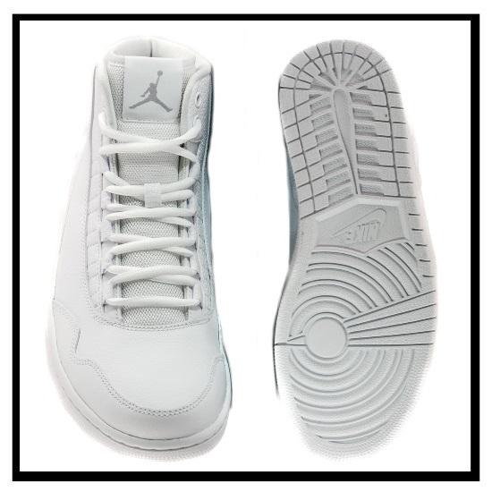 耐克 (Nike) 约旦行政执行乔丹运动鞋空气约旦约旦 (白/狼灰-白) 白色/灰色 (820240 100) 无止境的旅途 (无休止的旅行)