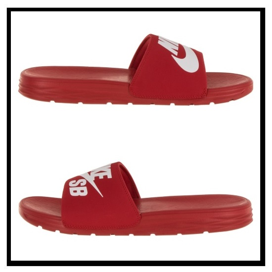 5339da1cc87b5 NIKE (Nike) BENASSI SOLARSOFT SLIDE SB (ベナッシソーラーソフト SB) healthy shower  sandals (UNIVERSITY RED WHITE) red   white (840067 601) ENDLESS TRIP end ...