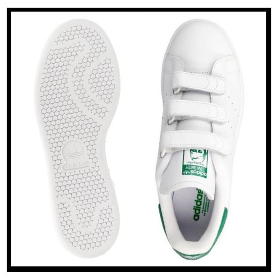 adidas Originals Stan Smith CF Velcro Whitegreen S75187 US